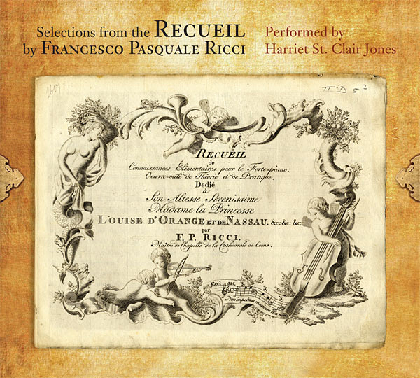 Cover of The Recueil by Francesco Pasquale Ricci